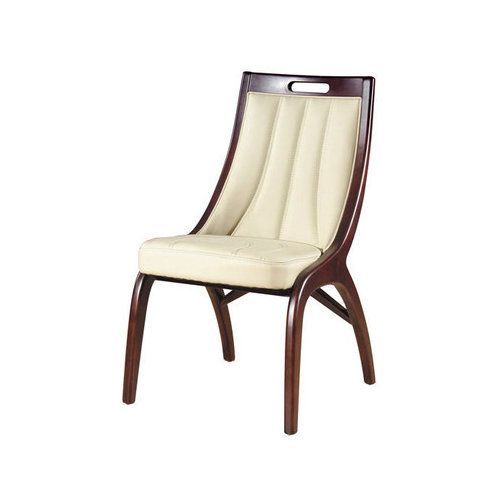 International Design Barrel Leather Dining Chairs (Set Of