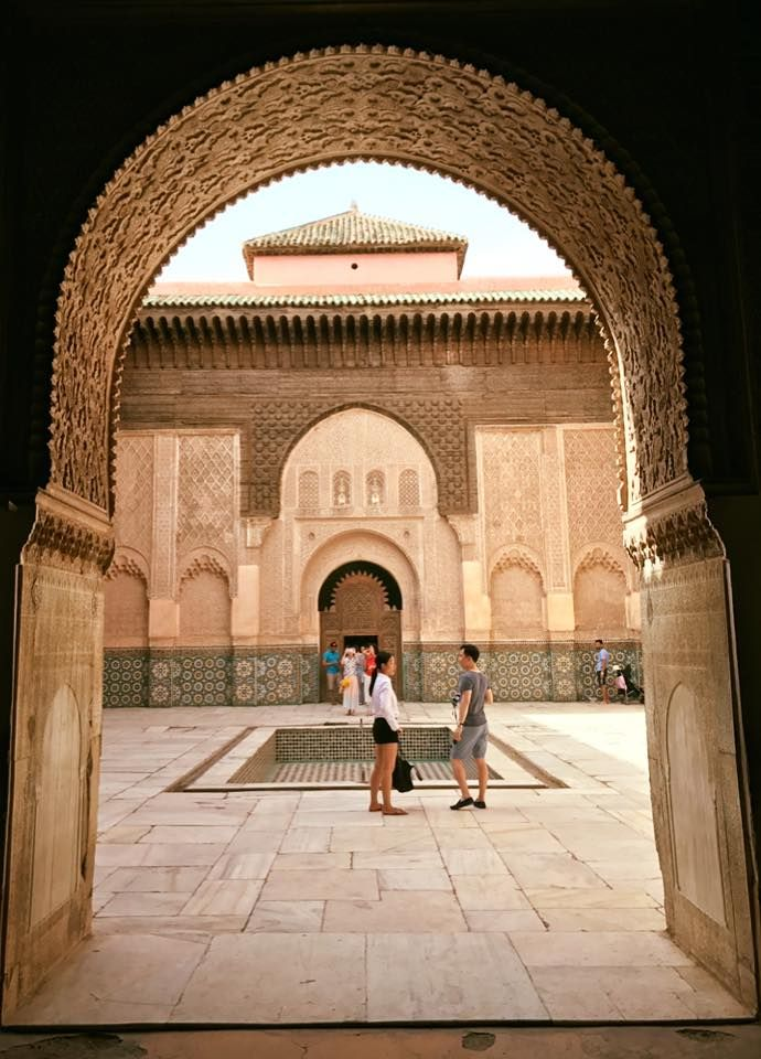 #Spiritual Madrassa-Ben-Youssef #Marrakech, #Morocco  ❤️  #Beautiful #Holidays #Traveling #Moroccotravel #Maroc #Marrakech2017 #Visitmorocco #Architecture #Adventures #Travelingram #Travel #Tourism #ViriksonMoroccoHolidays #Travelagent #CheapHolidaystoMorocco  Virikson Morocco Holidays provide a great opportunity to enjoy the travel photography of morocco beautiful places, get your cheap morocco holidays and enjoy the most memorable trip of your life with us!