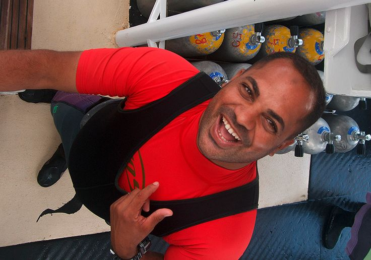 Ahmed Helmi has taught thousands of people to dive and is still happy to do so. Check our our PADI dive courses and see what you fancy doing next http://dive-urge.com/diving/diving-courses/