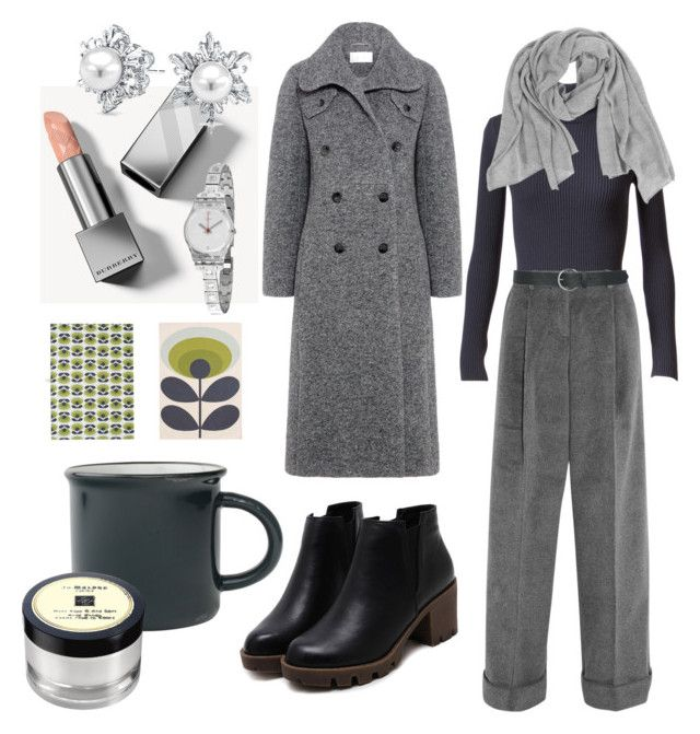 peppermint tea by ioana-constantin-1 on Polyvore featuring Alaïa, Carven, Topshop Unique, Swatch, Bling Jewelry, Samantha Holmes, M&Co, Burberry, Jo Malone and Orla Kiely