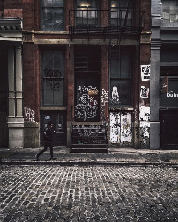 Gritty city  #vsco #soho  .... SoHo, Manhattan