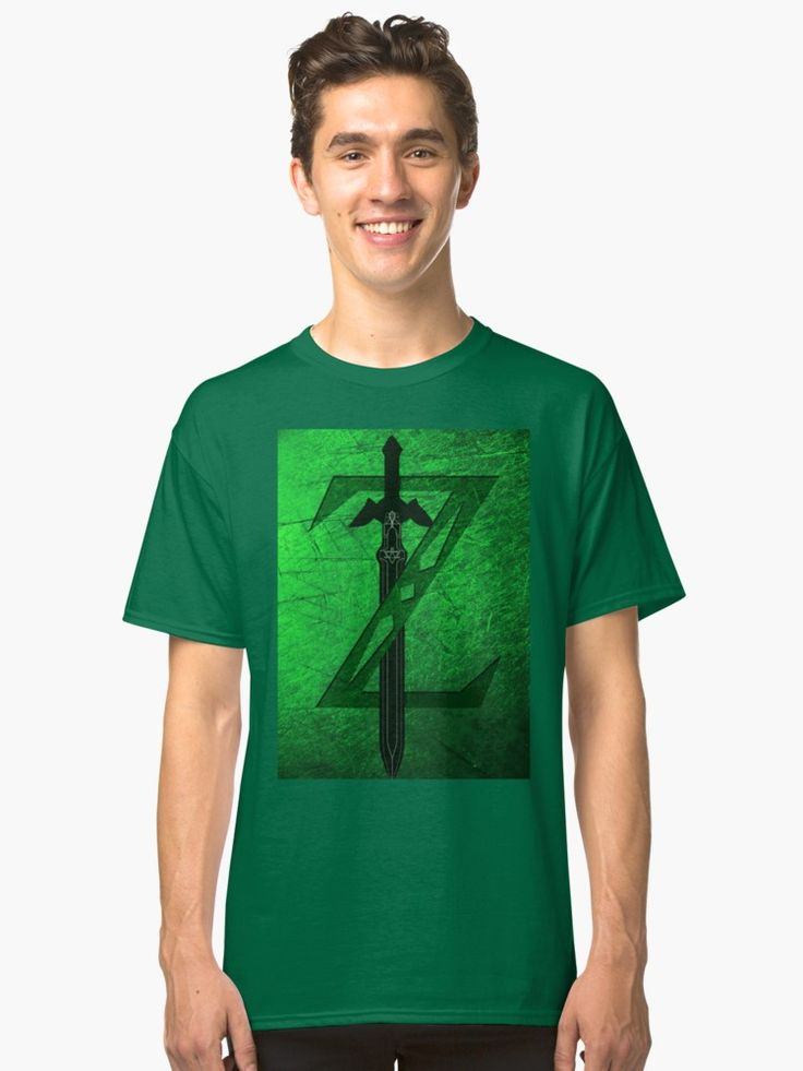 Zelda Sword Men's Classic T-Shirt. #tshirt #classictshirt #tshirtdesign #geek #nerd #retro #games #videogames #giftideas #streetwear #thelegendofzelda #giftsforhim #giftsforher #tshirtfashion #redbubble #gaming #gamer #gifts #onlineshopping #shopping #family #kids #style #fashion #cool #awesome #tee #tees #tshirts • Also buy this artwork on apparel, stickers, phone cases, and more.