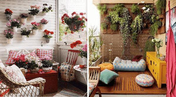 jardín vertical para la terraza