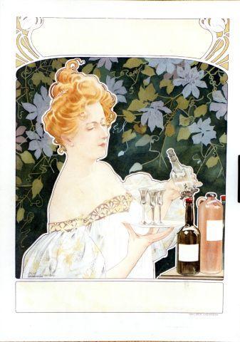 Livemont - Bols Genever - 1901 vintage poster
