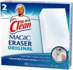 Procter & Gamble 2Ctmr Clean Magiceraser 43515 Sponges by Procter & Gamble. $7.99. Mr. Clean Magic Eraser - Just add water and it cleans dirt, grease, grim, crayon and scuff marks.