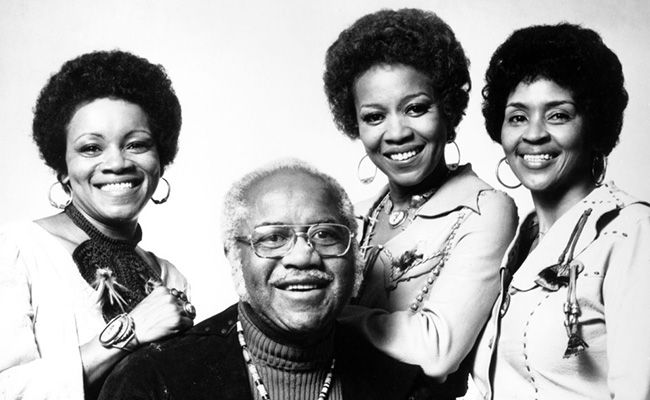 It was as though some force were propelling the #StapleSingers into the public consciousness again, timed to coincide with the arrival of a pair of resurrected recordings. #gospel #soul