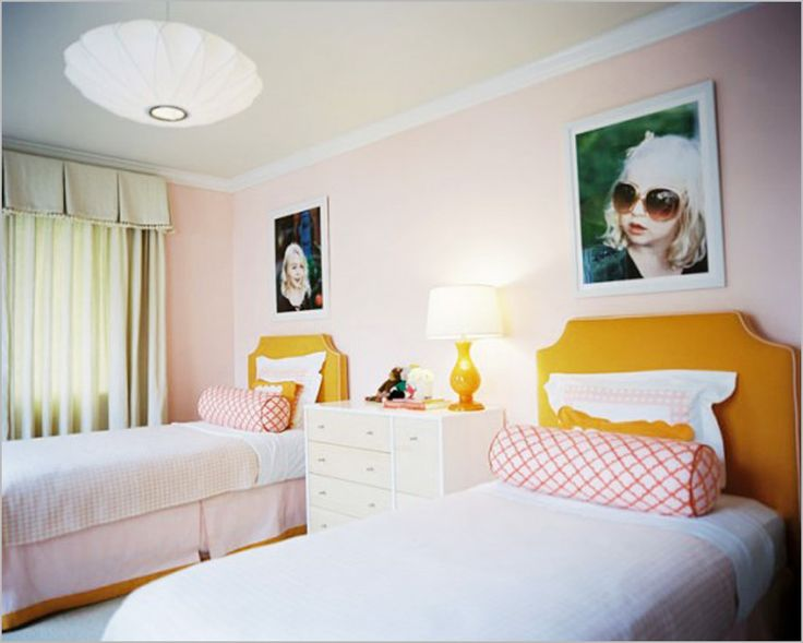 17 Best Ideas About Two Girls Bedrooms On Pinterest