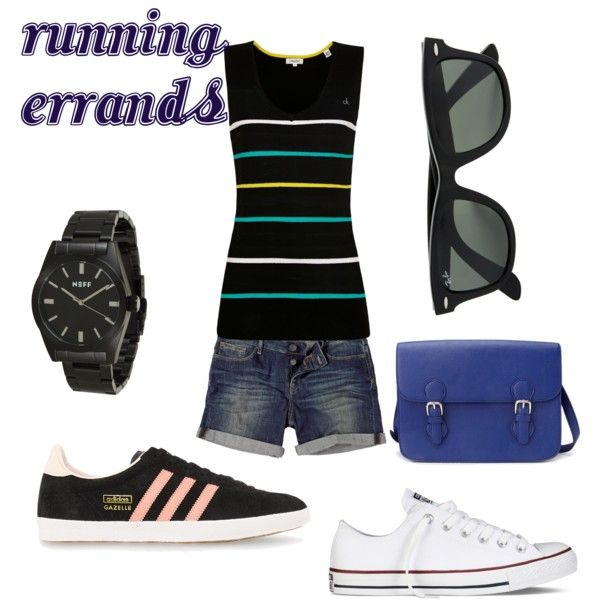 """""""Running Errands"""" by caryvanessa on Polyvore"""