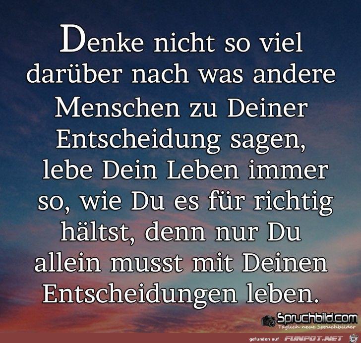 Wonderful Ein Bild Füru0027s Herz U0027denke Nicht So Viel Darueber Nach .pngu0027 Von Edith. Sprüche  AbschiedSchöne ...