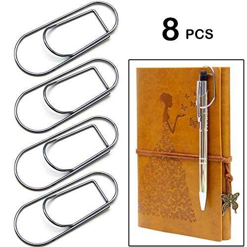 Pen Holder For Notebook Journals Stainless Pen Holder Cli Https