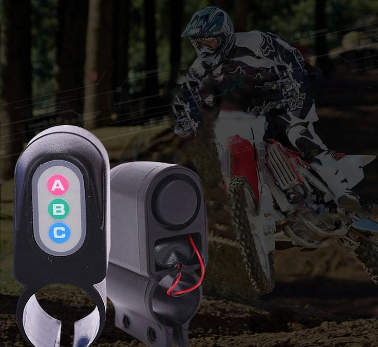 New Bicycle Vibration Code Moped Lock Bike Cycling Security Alarm Sound Lock