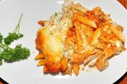 Are you looking for a quick and easy dinner recipe that you can whip together and pop in the oven on a busy night, but the entire family will still enjoy? Try my delicious Penne Pasta Lasagna Recipe today and you will be delighted! Watch my easy to follow recipe video that I have posted below for step-by-step instructions on how to make Penne Pasta Lasagna for your family tonight!