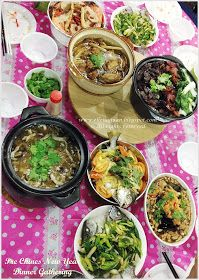 Cuisine Paradise   Singapore Food Blog   Recipes, Reviews And Travel: {5 New Recipes} Pre Chinese New Year Dinner Gathering