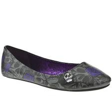 Iron Fist flats in purple for bridesmaids