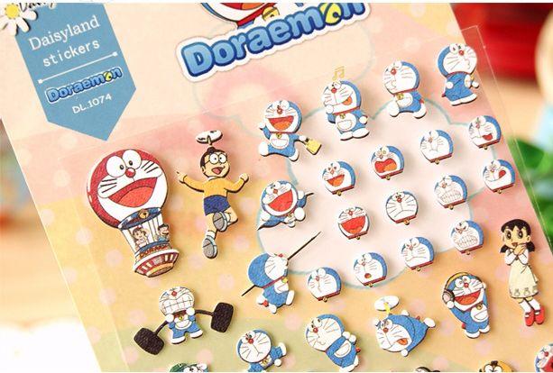 Doraemon Sticker  Sticker transparan bergambar Doraemon dan kawan- kawan ini barang baru di TokoLiqu!