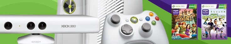 Xbox 360 Special Edition 4GB Kinect Family Bundle - Xbox.com....for Christmas for kids!!