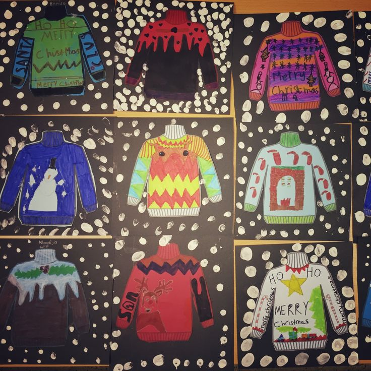 Year 4 Christmas jumpers