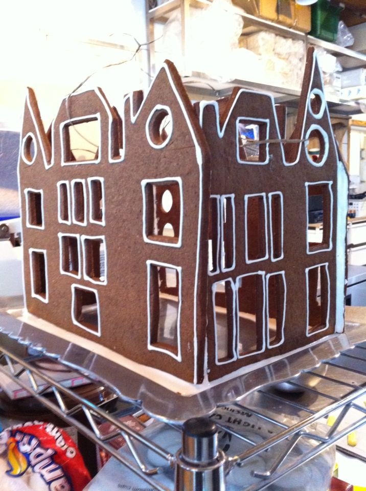 Gingerbread house for Christmas decoration