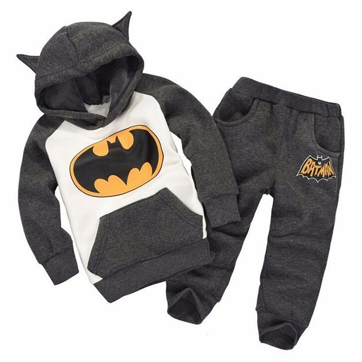 Fashion 2016 autumn Children Outfits Tracksuit Batman Clothing Children Hoodies + Kids Pants Sport Suit Boys girls Clothing Sets #>=#>=#>=#>=#> Click on the pin to check out discount price, color, size, shipping, etc. Save and like it!