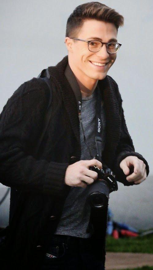 Colton Haynes on the Set of #Arrow #Colton #Haynes #Eyecandy