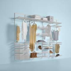 Vestidores y closets de estilo minimalista por Elfa Deutschland GmbH