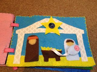 All Play On Sunday: Baby Bible Book (quiet book)