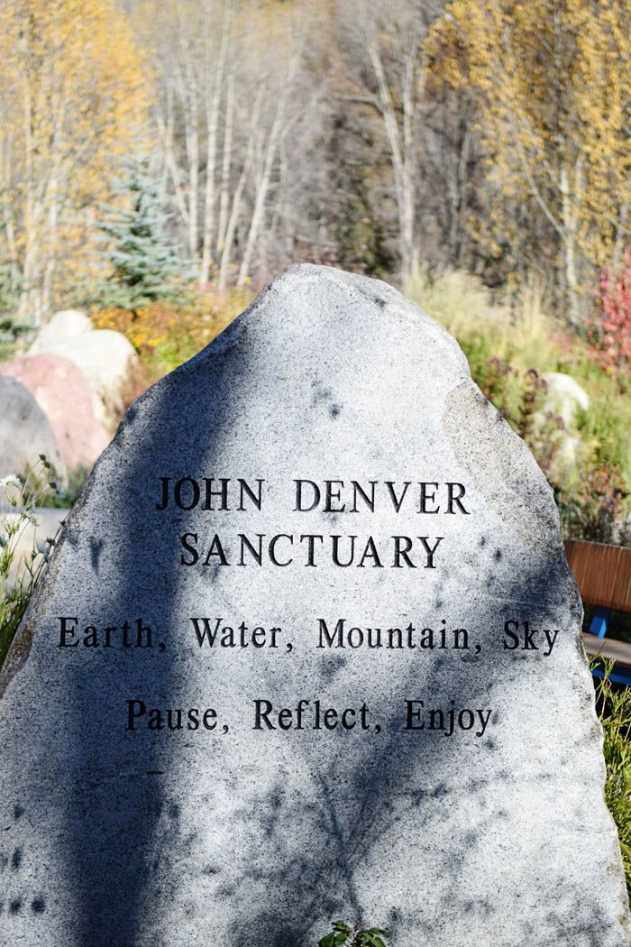 If you're searching for what to do in Aspen, Colorado, the John Denver Sanctuary is something not to miss. Whether you are a John Denver fan or not, it a beautiful rock garden in the heart of Aspen. Best of all? It's free! Read my full post on anexplorersheart.com