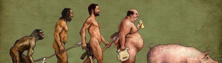 """""""A Revolução dos Bichos"""" é uma fábula moderna que nos ajuda a identificar líderes déspotas e regimes opressores, que operam através de técnicas de alienação e manipulação psicológica da população. Um livro sobre porcos disfarçados de homens. http://obviousmag.org/drinking_wine_and_killing_time/2015/por-que-a-revolucao-dos-bichos-deveria-ser-leitura-obrigatoria-em-qualquer-lugar-do-mundo.html"""