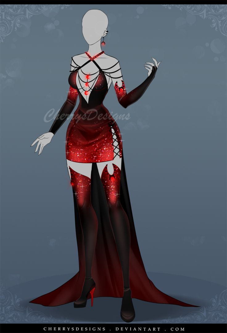(closed) Outfit Adopt 637 - Selene by CherrysDesigns