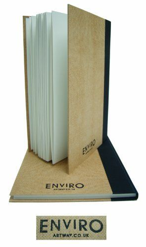 Artway Enviro (Recycled) A4 Casebound Sketchbook. 96 sides of 170 gsm 100% Recycled Cartridge Paper with Recycled Hardboard Covers ArtWay http://www.amazon.co.uk/dp/B00IGACWEI/ref=cm_sw_r_pi_dp_ajRcvb1H6KYA2
