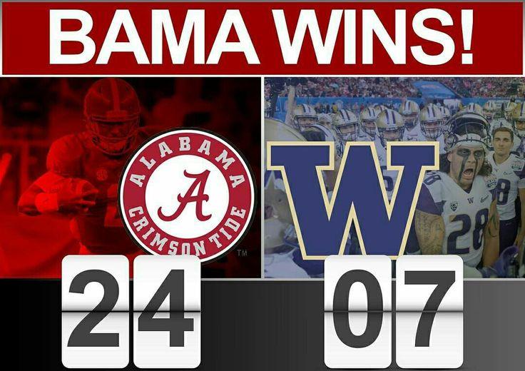 Alabama vs Washington