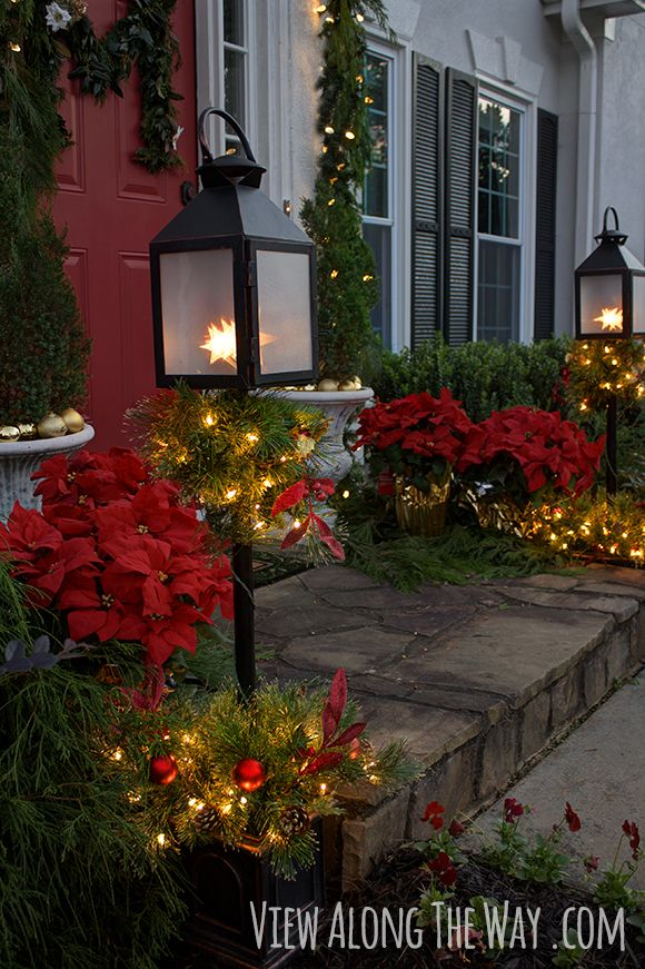 17 best images about outdoor christmas decorations on for Home depot christmas decorations for the yard