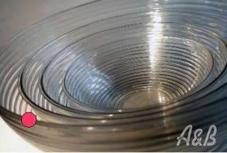 Clear plastic bowls - perfect for your BBQ buffet.  Available in crackled and ribbed