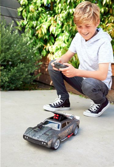 FAST & FURIOUS BLAST & BURN ICE CHARGER ~ This cool remote control car is a replica of Dom's Ice Charger and can go in multiple directions, do wheelies, and even fire 'missiles' from the vehicle using the remote control!    gifts for 10 year old boys | gift ideas for 12 year old boy | gift ideas for 11 year old boy| gifts for boys age 12 | Christmas gifts for 12 year old boy| Christmas gifts for boys age 12