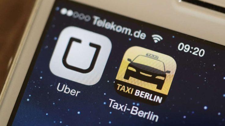 UMSTRITTENE TAXI-APP Gericht verbietet Fahrdienst Uber in ganz Deutschland