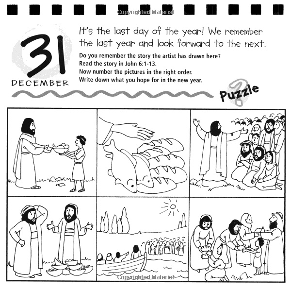 Jesus feeds 5000. Amazon.com: More 365 Activities for Kids (9780825472923): Peter Wyart, Tim Dowley: Books