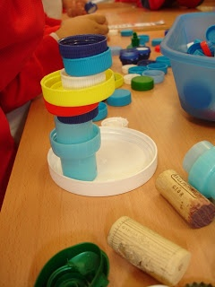 """Creating with bottle tops, lids & corks ("""",)"""