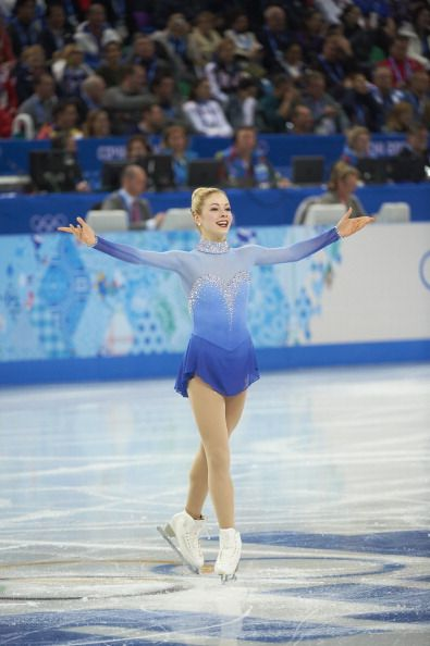Dancing on Ice  -  Gracie Gold - Team Final - Sochi, Russia  -  2014 Olympics