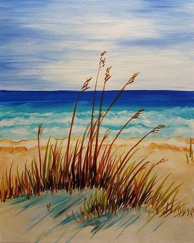 Paint Nite: Peaceful Beach Afternoon