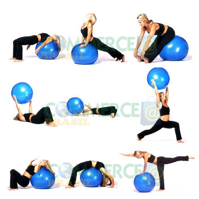 Souvent Best 25+ Pilates com bola ideas on Pinterest | Bola pilates, Bola  AZ23