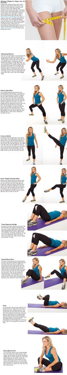 Slimmer Thighs workout. http://www.ivillage.com/slimmer-thighs-7-days-yes-it-s-possible/4-b-301396?obref=obinsite#301405