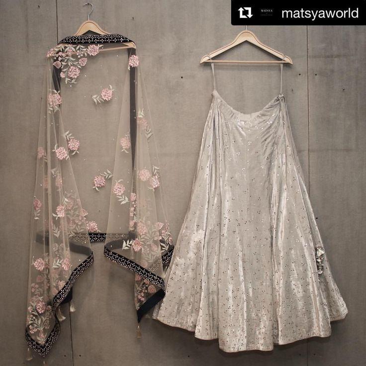 #Repost @matsyaworld (@get_repost) ・・・ Matsya ~ Couture The Mukaish Story. Lush Velvet . Classic #bridesmaid #lehenga #velvetlove #minimal #classy #indianweddings #indianheritage #matsyaworld #aneweraofcouture#handcrafted #indianbridesmaids