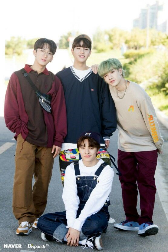 Stray Kids Bang Chan Changbin Seungmin IN Jeongin Dispatch ...