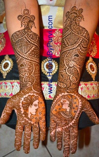 2015 Mehndi Maharani Finalist: Henna by Purvi http://www.maharaniweddings.com/gallery/photo/50927