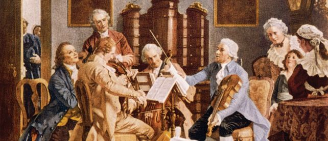 Haydn and Mozart were innovators who wrote classical music. The fame they acquired caused the musical center of Europe to shift to the Austrian Empire. Haydn spent most of his life as a musical director for wealthy Hungarian princes, but much more enjoyed doing public concerts. Mozart was a child prodigy. He gave his 1st harpsichord concert at age 6 and wrote his 1st opera at just 12. He was a very passionate Music writer and wrote some of the world's greatest operas.