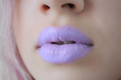 Lime Crime Unicorn Lipstick - D'Lilac - http://ninjacosmico.com/9-fashion-tips-pastel-grunge/
