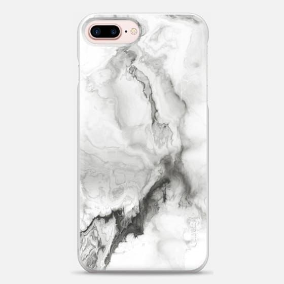 Casetify iPhone 7 Plus Snap Case - White Marble by Chelsea Victoria