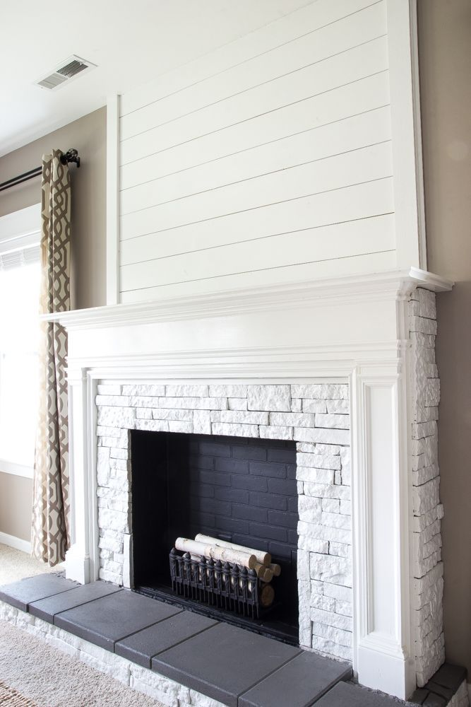Best Free Of Charge Faux Fireplace Stone Style If You Re Similar To Urban Apartment Dwellers You In 2021 Faux Fireplace Diy Fireplace Remodel Brick Fireplace Makeover