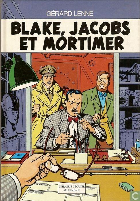 Bandes dessinées - Blake et Mortimer - Blake, Jacobs et Mortimer