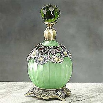 StealStreet SS-A-51648 Classic Dragonfly Perfume Bottle, Green